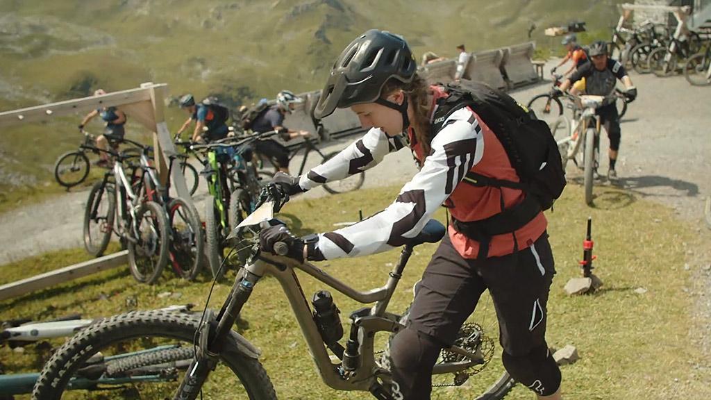 Event Hörnli Trailjagd 2021 Arosa Lenzerheide - Checkpoint - Event