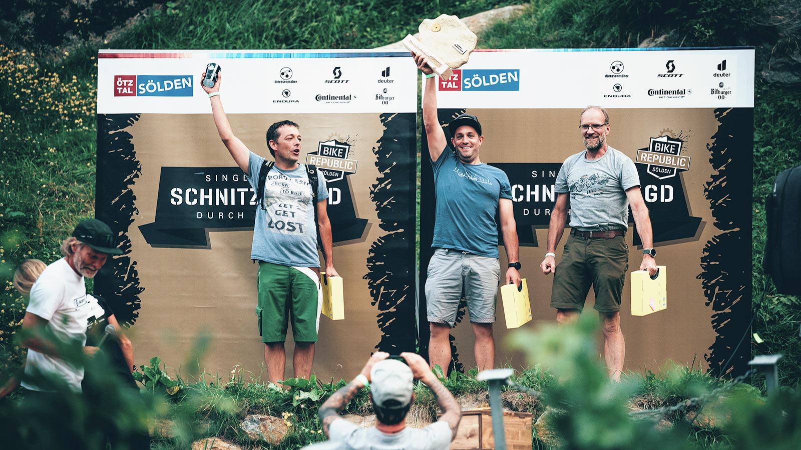 Event Schnitzeljagd 2021 Sölden Ötztal - Sieger - Event