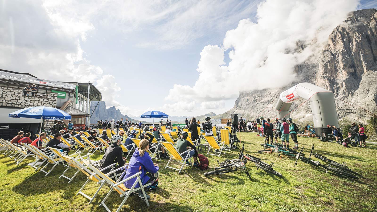 Event Knödeljagd 2021 Gröden Val Gardena - Dolomiten Panorama
